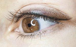 Татуаж глаз, перманентный макияж глаз (век)